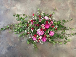 Trailing Posy Coffin