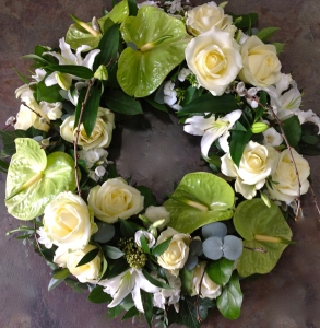 Elegant Tropical Wreath