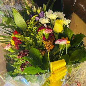Colourful Flat Bouquet
