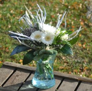 Frost Morning Vase