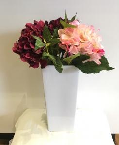 White Ceramic Large Vase