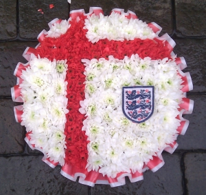 England Posy Pad