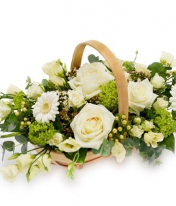 Traditional Floral Basket