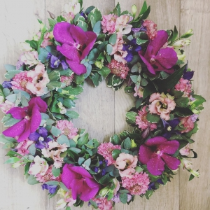 Violet & Purple Wreath