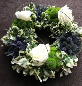 Textured Wreath