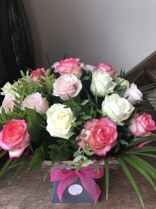 Blush Pink Rose Bouquet