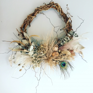 Medium Dried Wreath