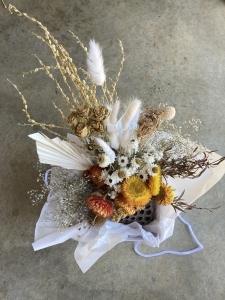 Bright Dried Vase