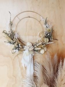 Neutral Dried Wreath