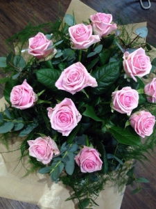 Dozen Pink Or White Rose