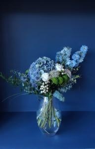 Mr Blue Sky Vase