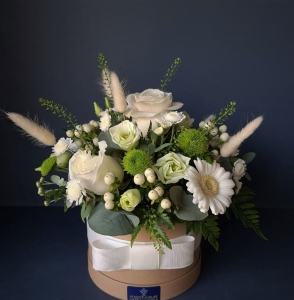 All In White Hatbox