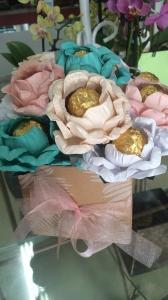 Chocolate Flower Box