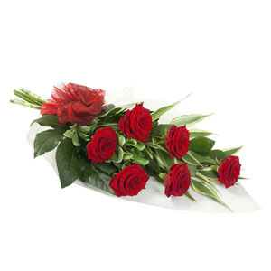 6 Luxury Grand Prix Red Roses