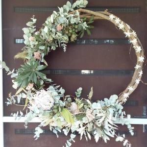 Rustic Everlasting Wreath