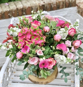 Pink Perfection Globe Vas