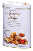 Tin Of Assorted Fudge
