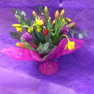 Pretty Spring Vase