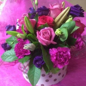 Floral Hatbox