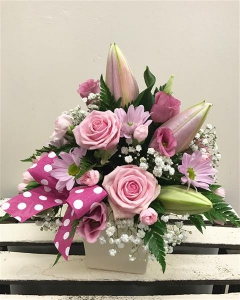 Pink Elegance Arrangement