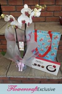 Orchid & Desserts Bag