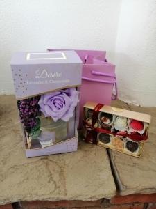 Lilac Floral Diffuser Set