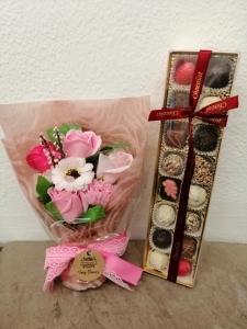 Soap Flowers & Chocolates