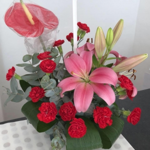 Anthurium And Lily