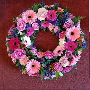 Open Flower Wreath
