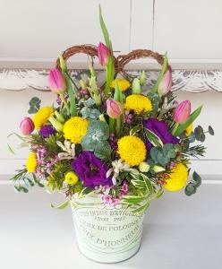 Garden Pot Flowers