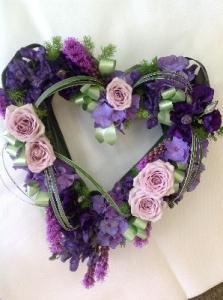 Vintage Purples Heart