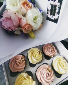 Flower & Cupcake Giftpack