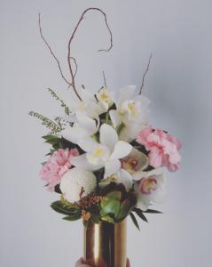 Arrangement In Gold Vase