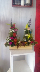 Arrangement In Wooden Box