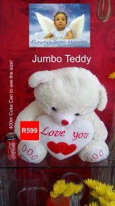 V-Day Jumbo Teddy