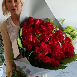 100 Roses (Standard Size)