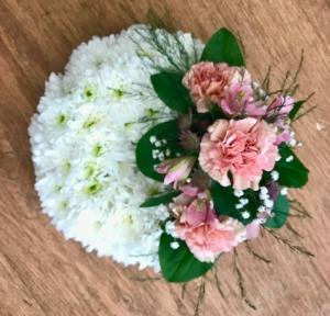 Based Wreath  Pinks