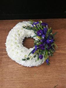 Based Wreath Purples