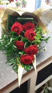 6 Red Rose