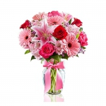 Order Simply Pink Bouquet flowers