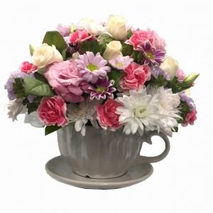 Floral Tea Cup