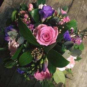 Purples + Lilies