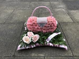 Handbag Funeral Tribute