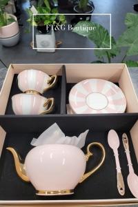 Blush Tea Set For Two