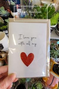All My Heart Card