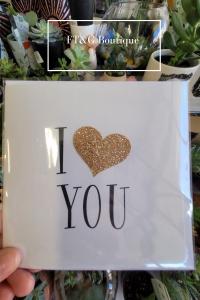Glitter Love Card