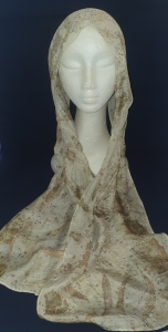 Hand-dyed Pure Silk Scarf