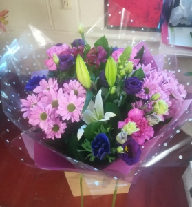 Purple And Pink Handtied