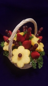 Fresh Fruit Flower Basket