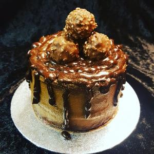 Chocolate Ganache Gift Cake
